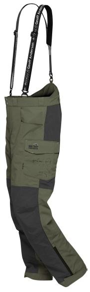 Geoff anderson kalhoty barbarus zeleno černá-velikost xxxxl