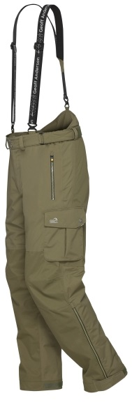 Geoff anderson kalhoty urus 5 zelené-velikost s