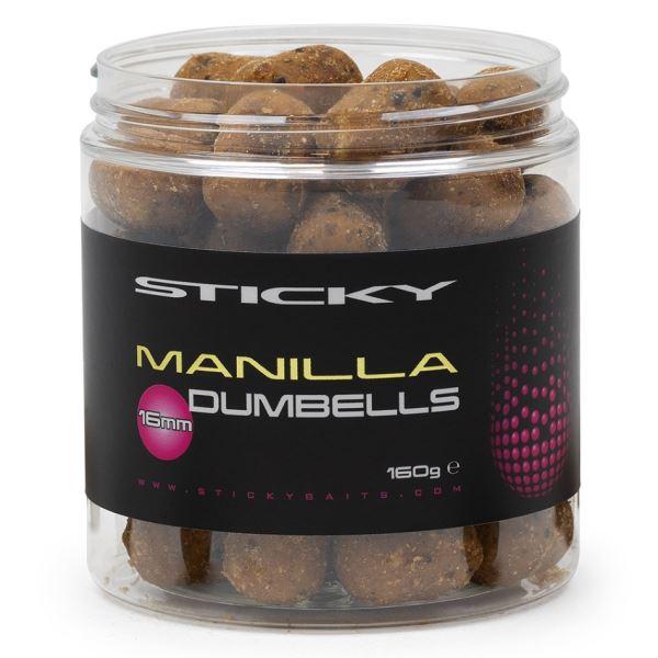 Sticky Baits Neutrálně Vyvážené Dumbells Manilla Wafters 130 g 12 mm