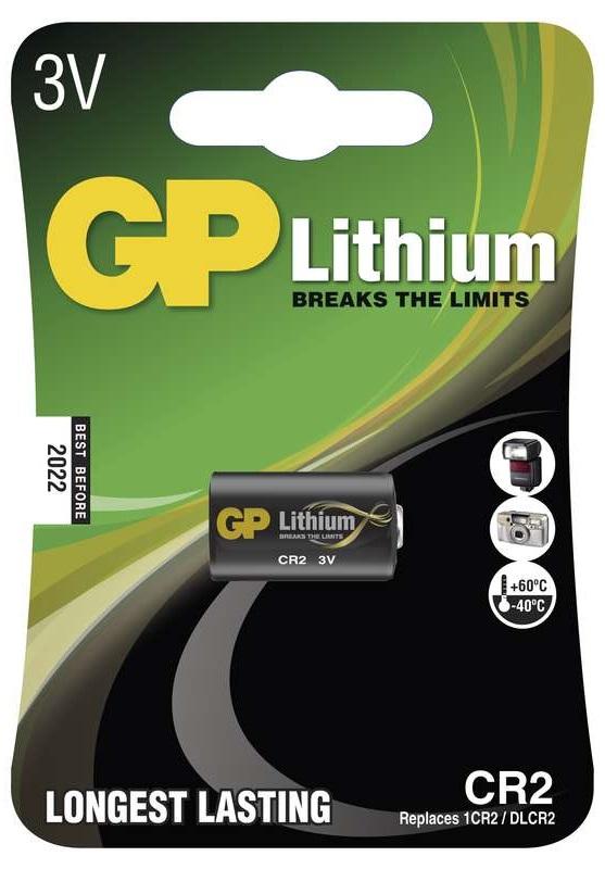 Gp batteries foto lithiová baterie gp cr2 1 ks