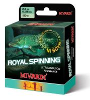 Mivardi  Vlasec  Royal Spinn Grey 200 m Průměr 0,185 mm / Nosnost 3,9 kg