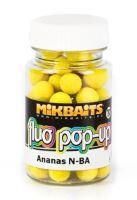 Mikbaits Mini Plovoucí Boilie Fluo 60 ml 10 mm-Ananas N-BA