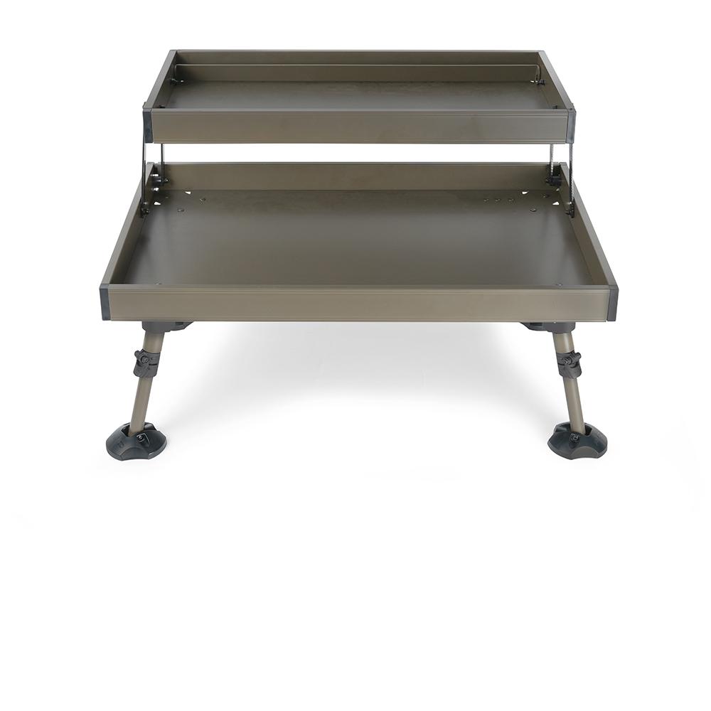 Avid carp stolek double decker bivakovací stůl