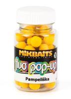 Mikbaits Mini Plovoucí Boilie Fluo 60 ml 10 mm-Pampeliška