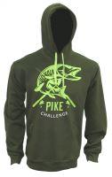 Zfish Mikina Hoodie Pike Challenge-Velikost M