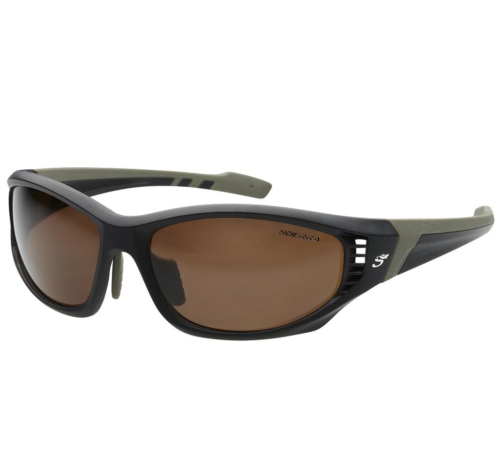Scierra brýle wrap arround ventilation sunglasses brown lens
