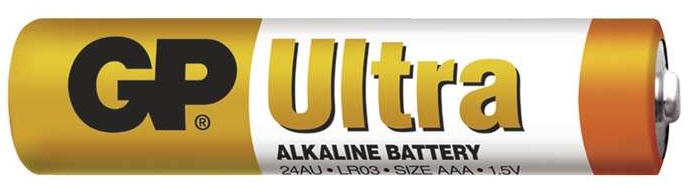Gp batteries alkalická baterie gp ultra lr03 (aaa) 1 ks