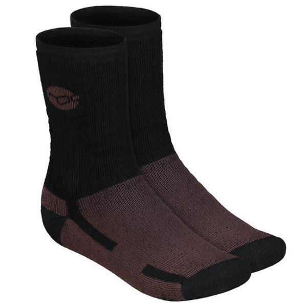 Korda Ponožky Kore Merino Wool Sock Black