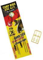 Extra Carp Návazce Rig EX 666 Barbless 25 lb 2 ks-Velikost Háčku 4