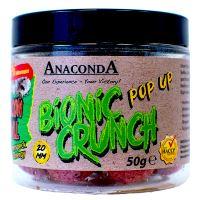 Anaconda Pop Up Boilie Bionic Crunch 20 mm 50 g-jahoda se smetanou