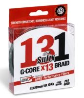 Sufix Splétaná Šňůra 131 G-Core Málo Viditelná Zelená 150 m-Průměr 0,185 mm / Nosnost 11,4 kg