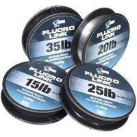 Nash Fluorocarbon Fluorolink Čirá 20 m-Průměr 0,40 mm / Nosnost 15 lb