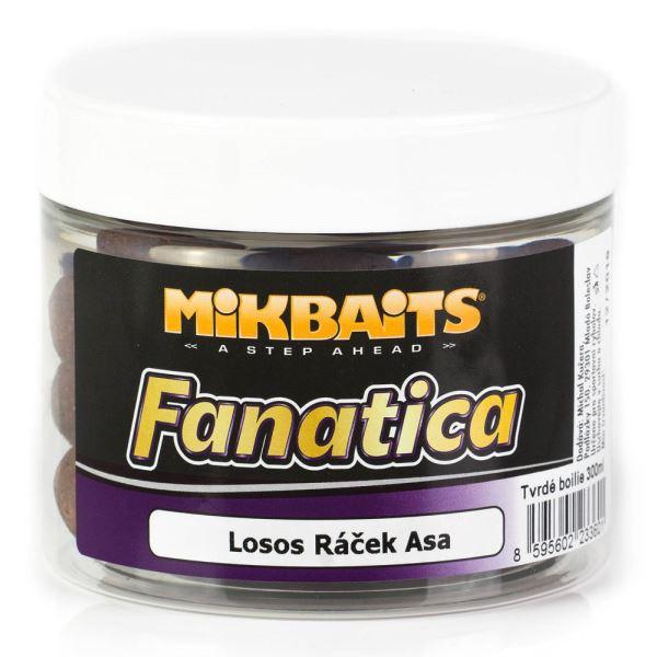 Mikbaits Boilies Fanatica Extra Hard Losos Ráček Asa 300 ml