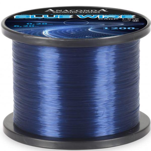 Anaconda Vlasec Blue Wire 1200 m