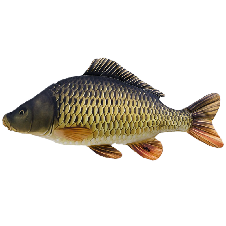 Levně Gaby plyšová ryba kapr šupináč giant 100 cm