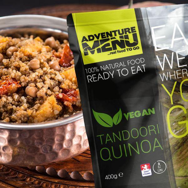 Adventure Menu Tandoori Quinoa Vegan