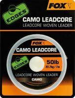 Fox Leadcore Camo 50 lb 22,7 kg-Návin 25 m