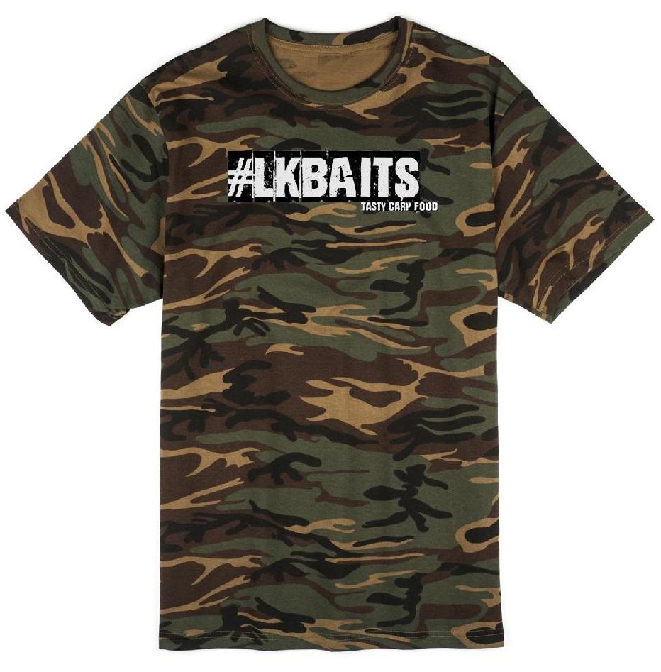 Lk baits triko camo-velikost xxl