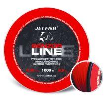 Jet Fish Senzor line Red 1000 m-Průměr 0,25 mm / Nosnost 5,5 kg