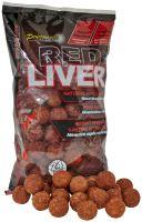 Starbaits Boilie Red Liver-24 mm 1 kg