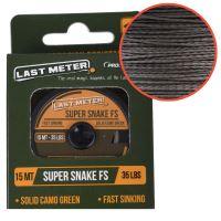 Prologic Návazcová Šňůrka Super Snake FS 15 m Camo-Nosnost 25 lb
