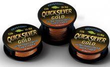 Kryston Návazcová Šňůrka Quicksilver Gold 20 m-Nosnost 35 lb