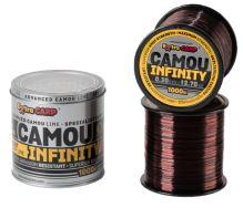 Extra Carp Vlasec Infinity Camou 1000 m-Průměr 0,28 mm / Nosnost 10,9 kg
