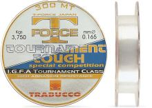Trabucco  Vlasec  T-Force Tournament Tough 150 m Crystal-Průměr 0,128 mm / Nosnost 2,1 kg
