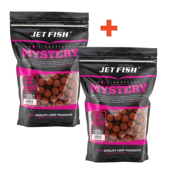 Jet Fish Boilie Mystery Super Spice 3 kg 1+1 Zdarma