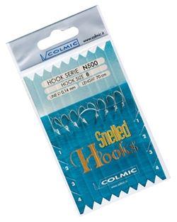 Colmic návazce snalled hooks n500 12 mm-velikost háčku 14