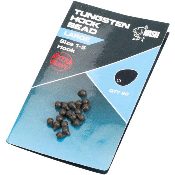 Nash Težké Zarážky na háček Tungsten Hook Beads